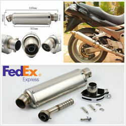 Motorcycle Scooter 38-51mm Slip-On Exhaust Muffler Pipe with DB Killer US Stock
