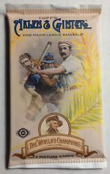 2006 Topps Allen & Ginter Factory Sealed Hobby Pack Fresh from the Box!!