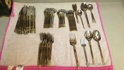Wallace GOLDEN CORSICA Stainless 1810 Gold Accent China Flatware. You Choose!