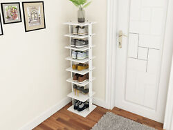 Wooden Shoes Storage Stand 7 Tiers Shoe Rack Organizer Multi-shoe Rack Shoebox