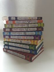 Complete lot 1-10 Diary of a Wimpy Kid Hardcover Paperback Mixed young reader