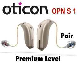 Brand New Oticon Opn S 1 mini RITE Hearing Aids (Latest Top Pair) Limited Time