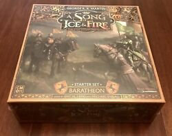 Baratheon Starter Set A Song Of Ice And Fire Miniatures CMON IN HAND