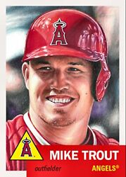 2019 TOPPS LIVING SET MIKE TROUT #200 In Hand!