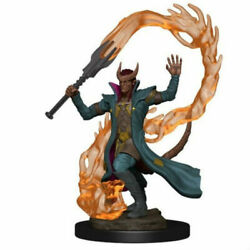 Tiefling Male Sorcerer D&D Icons of the Realms Premium Minis Wizkids WZK73819