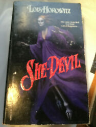 SHE DEVIL BY LOIS HOROWITZ OUT OF PRINT HORROR PB