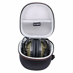 Ear Protection Muffs Headphones Case Shooting Hunt Range Safety Hearing Sound