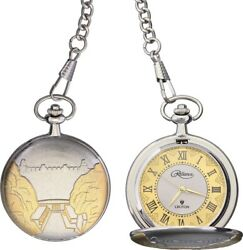 . Pocket watch  image of Hoover Dam on front and commemeration to its opening