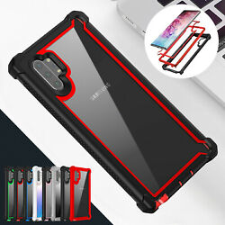 For Samsung Galaxy Note 10 Plus Protective Thin Phone Case Rugged Hybrid Cover