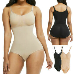 Fajas Colombianas Reductoras Levanta Cola Post Surgery Full Body Shaper Girdle