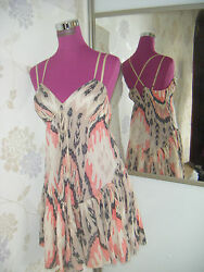 Stunning  All Saints Ikat Dress  Size 12 Excellent Condition $50.03