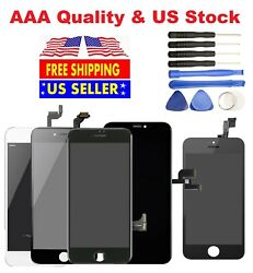For iPhone 6 6s 7 8 Plus LCD Display Accembly Digitizer Touch Screen Replacement $21.45