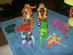 Masters of the Universe Skeletor 1981-83 HE-MAN BATTLE HORSES CATS AND MORE