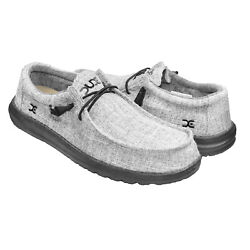 HEY DUDE Wally V Linen Men Iron 111723901 $56.95