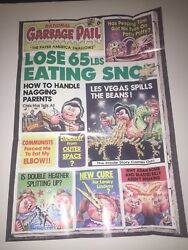 1986 Topps Garbage Pail Kids National Garbage Pail #11 Poster Direct From Pack $4.99