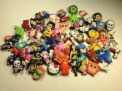 Character Shoe Charm Lot - Pick your quantity - For kids teenagers crafts