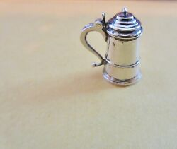1:12 IGMA Artisan Peter Acquisto Sterling Silver Finely Crafted Replica Tankard