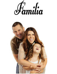 FAMILIA SPANISH WORD WALL DECAL FAMILY DECAL STICKER Kitchen Bedroom Family $4.00