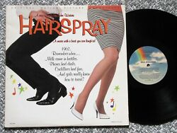 HAIRSPRAY Soundtrack *1988 Near Mint Vinyl MCA Records LP*