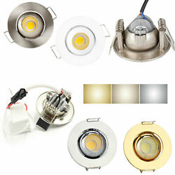 3W Mini Recessed LED Ceiling Dimmable Light COB Downlight Bulb White Lamp GL316 C $5.93