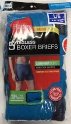 Hanes ComfortSoft Boxer Briefs Mens Assorted Colors 5 pair $13.99