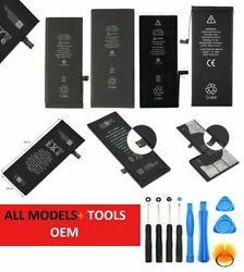 Replacement Internal Battery For iPhone 4 4S 5 5C 5S 6 6S 7 8 Plus Tools Kit $13.19