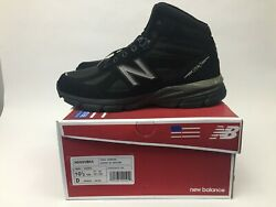New Balance 990v4 Trail Running Shoes Made in USA Mens Size 10.5 Black M0990BK4