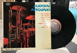 Juggin' Around Vee Jay Jazz Records LP Vinyl Frank Foster Tommy Flanagan