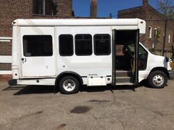Ford E 350 Super Duty Diesel Party Bus Food Truck