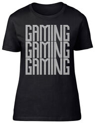 Gaming Gaming Gaming Fitted Womens Ladies T Shirt GBP 9.99