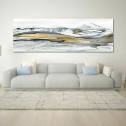 Abstract Art Oil Painting Posters Wall Canvas Mountains Pictures Living Decor $42.34