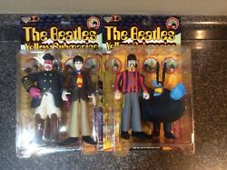 2 Action Figures Beatles Yellow Submarine Spawn MacFarlane Toys NEW Paul