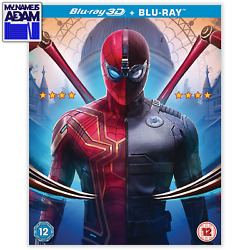 SPIDER-MAN: FAR FROM HOME Blu-ray 3D + 2D (REGION-FREE) PRE-ORDER NOW!