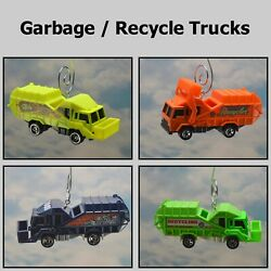 Garbage Recycle Refuse Truck Custom Christmas Ornament 164 Trash Waste Mgmt $24.99