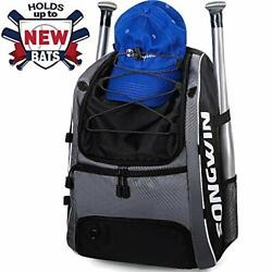 Baseball Bag Equipment Backpack for Sport Gear for Kids Youth and Adults