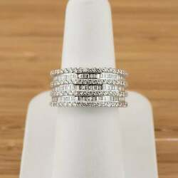 Fine Quality Jewellery 18ct White Gold 1.56ct apx Diamond Ring 9.2gms