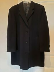 Calvin Klein Mens Black Coat