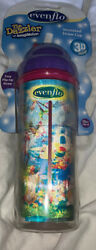Evenflo Dazzle 3D Sippy Cup 10 Oz Straw insulated $12.99