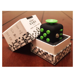 Ralix Fidget Cube Toy Anxiety Stress Relief Focus Attention Work Puzzle $5.99