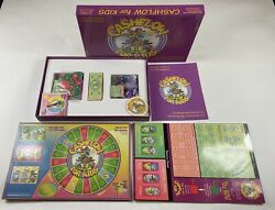 Cashflow for Kids Board Game Educational Family Financial IQ Complete Rich Dad