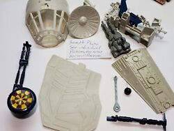 Choose Millennium Falcon Vintage Parts Star Wars Canopy Cannon Radar Ramp 1979 $16.00