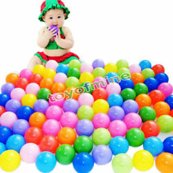 1000 pcs Baby Kid Pit Toy Game Swim Pool Soft Plastic Ocean Ball 5.5cm US Stock