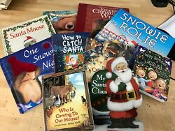 5 Christmas Story Time Bundle for toddlers young children kids