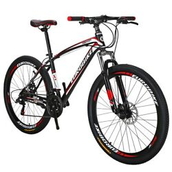 X1 Mountain Bike 27.5 inches Wheels 21 Speed Bicycle MTB Front Suspension Mens $252.86