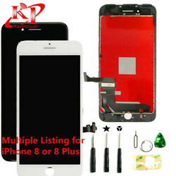 For OEM iPhone 8 Plus 8 Screen Replacement LCD Display Touch Digitizer + Tools $23.99