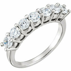 Round Diamond Solitaire Engagement Ring 14K White Gold 1.89 Ct (F Vs2 Clarity)