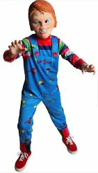 CHUCKY Halloween Costume Child's Play Bride of Chucky Boy Small 4 6 Child Youth