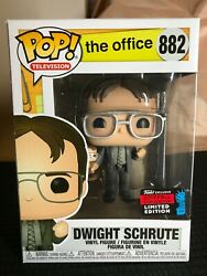 The Office #882 Dwight Schrute Holding 2019 Shared Exclusive Funko Pop! TV