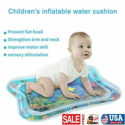 Baby Inflatable Fun Water Play Mat for Kids Children Infants Best Tummy Time Toy