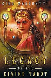 Legacy of the Divine Tarot KIT Deck amp; Book Wiccan Pagan Metaphysical $37.00